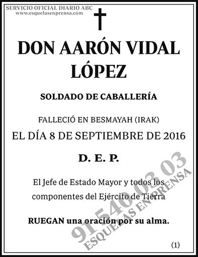 Aarón Vidal López